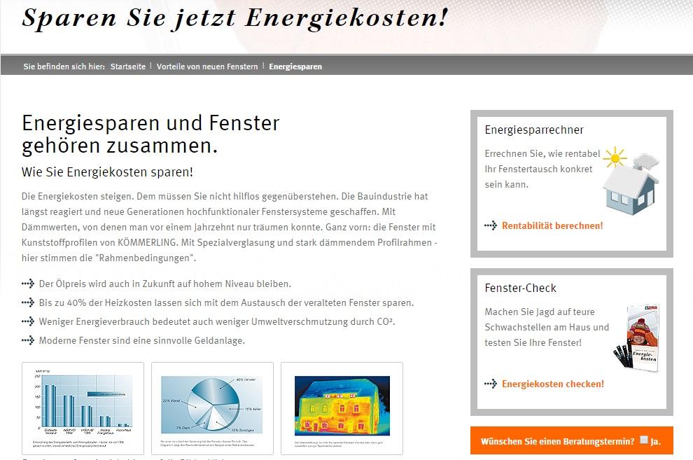 Tischler Beispiel Informationsseite