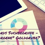 Google AdWords Suchbegriffe – Verborgene Goldgrube? [Praxistipp]