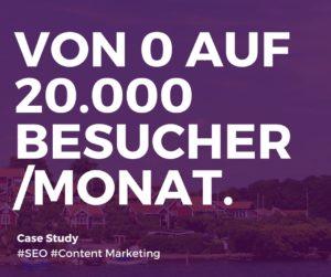 Mehr Besucher SEO Content Marketing